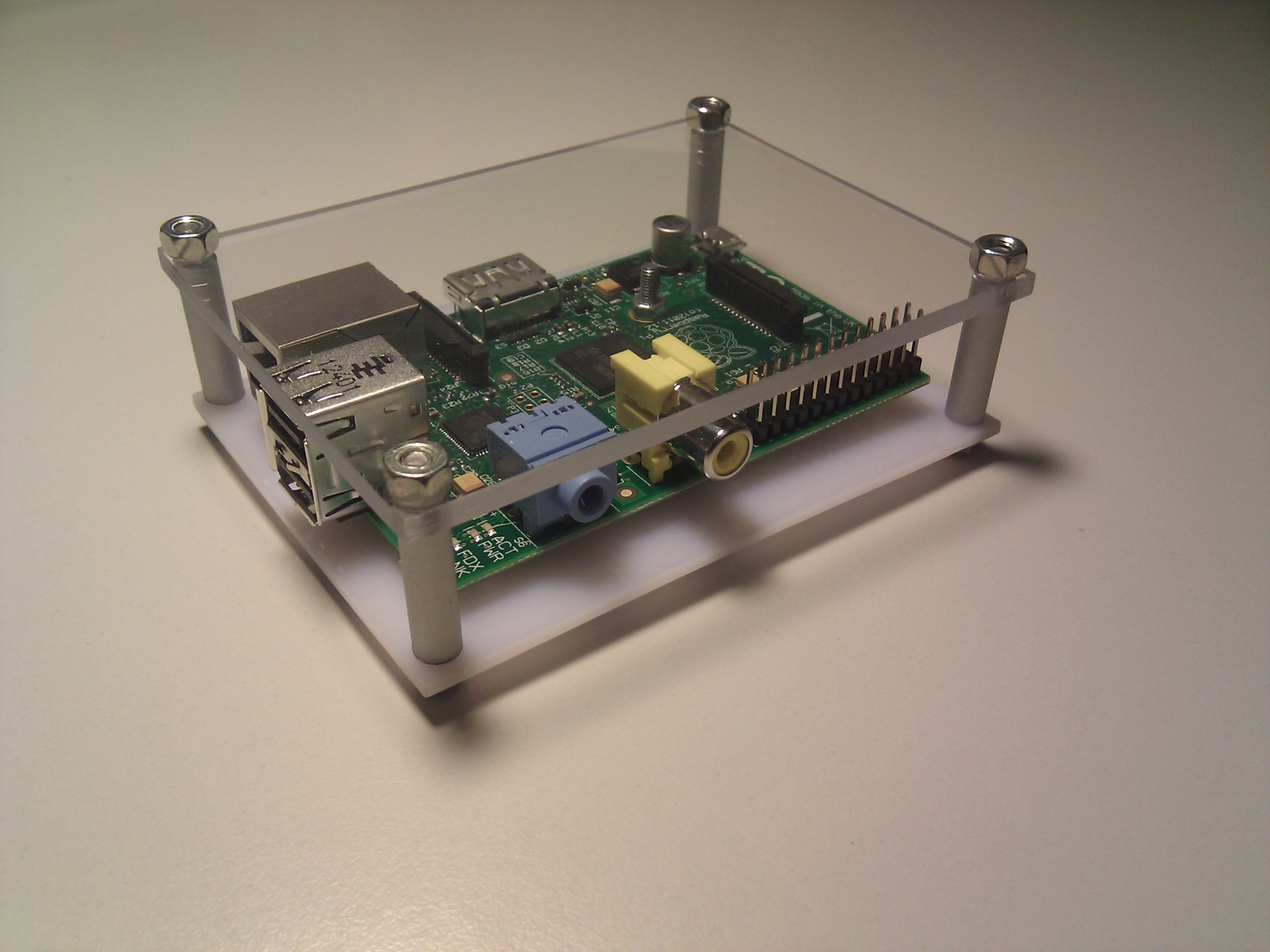 Raspberry Pi PVC Case at no cost